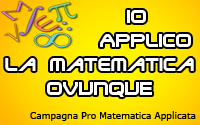 Campagna per la diffusione della Matematica Applicata