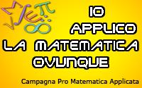 Campagna per la diffusione della Matematica Applicata